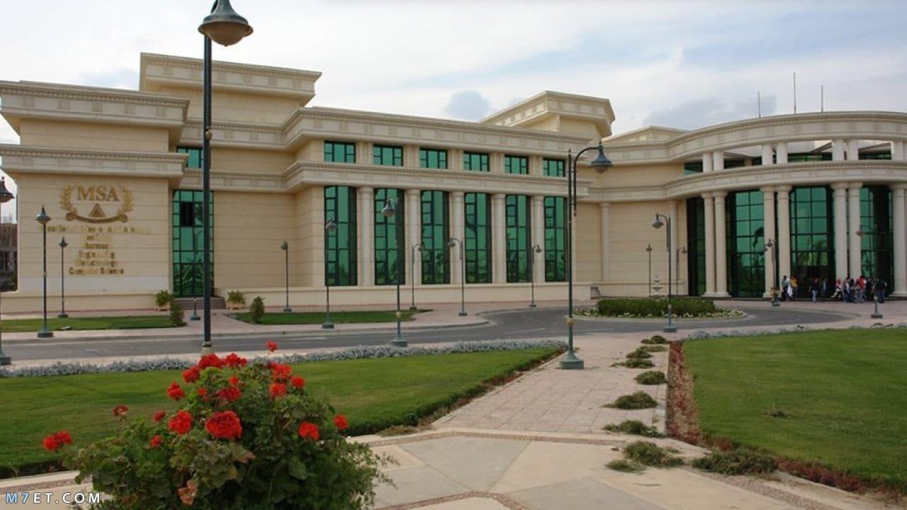 مصاريف جامعة مصر للعلوم والتكنولوجيا