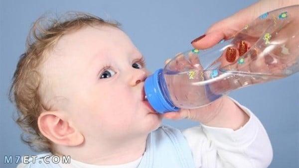 الجفاف عند الأطفال