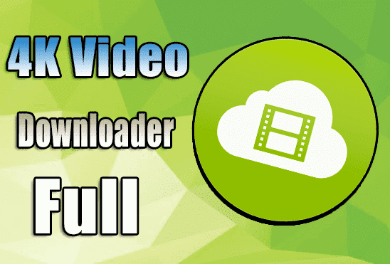 برنامج 4K video downloader