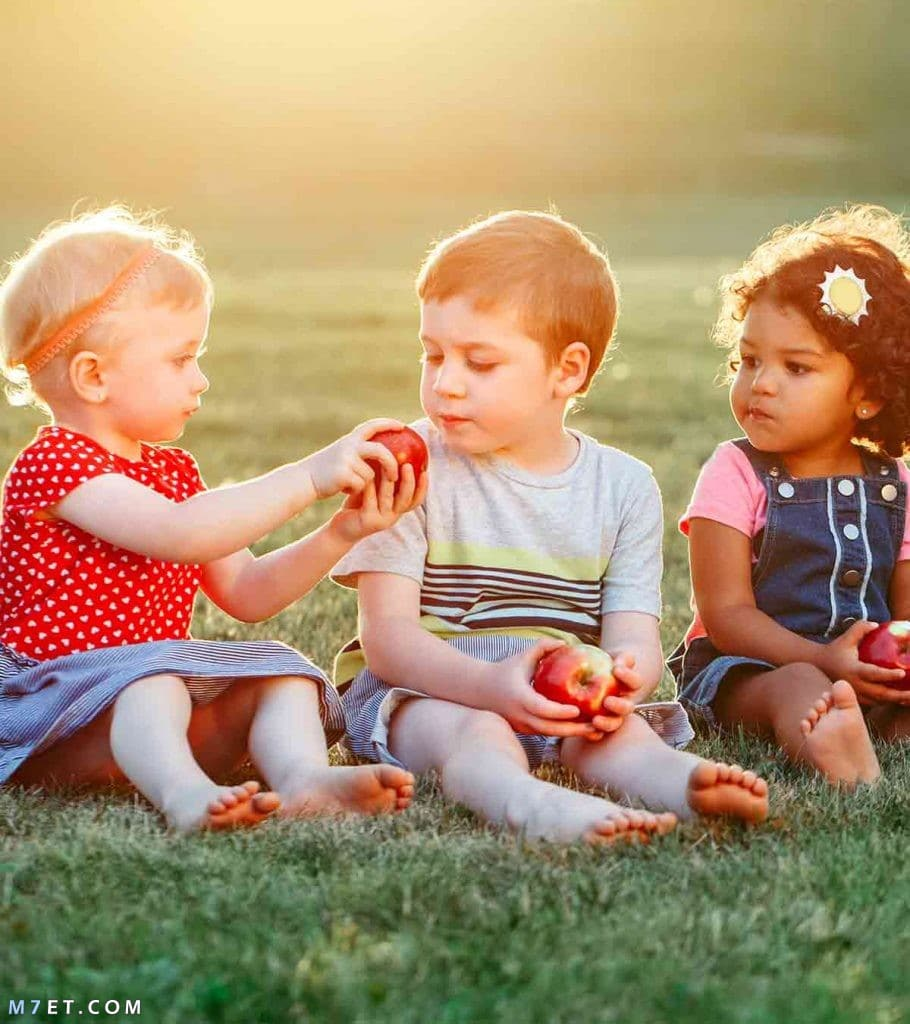 فوائد التفاح للاطفال