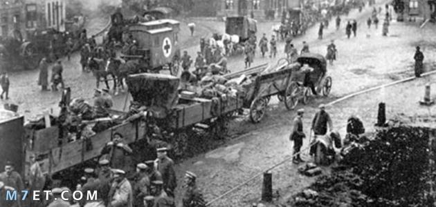 اثار الحرب العالمية الثانية