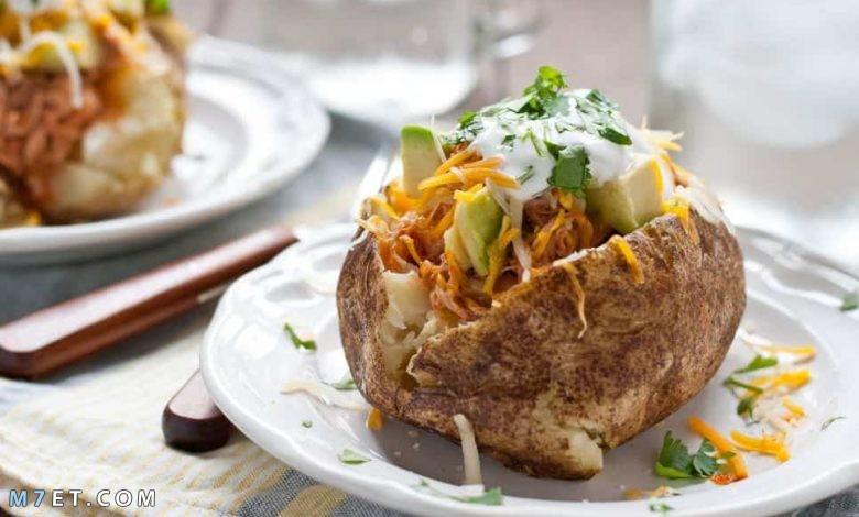 اكلات البطاطس في الفرن