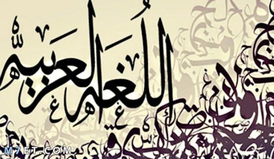 اهمية اللغة العربية