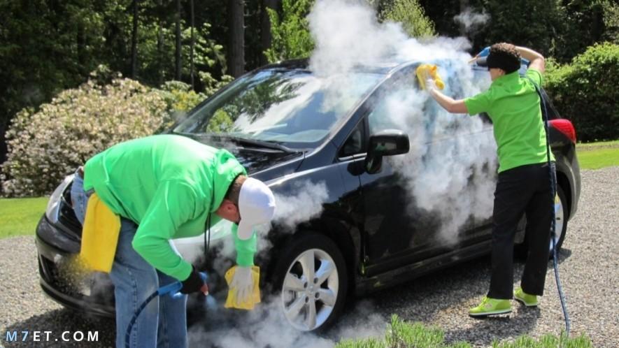 جهاز غسيل السيارات بالبخار