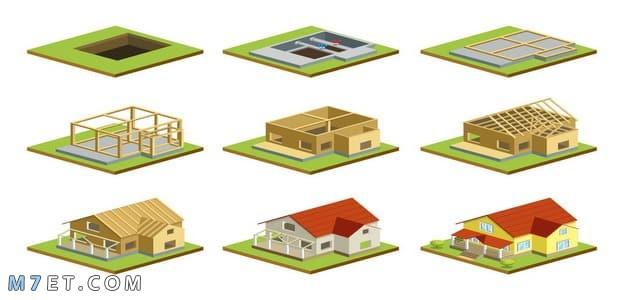 خطوات بناء منزل