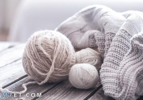 صناعة الصوف اليدوي