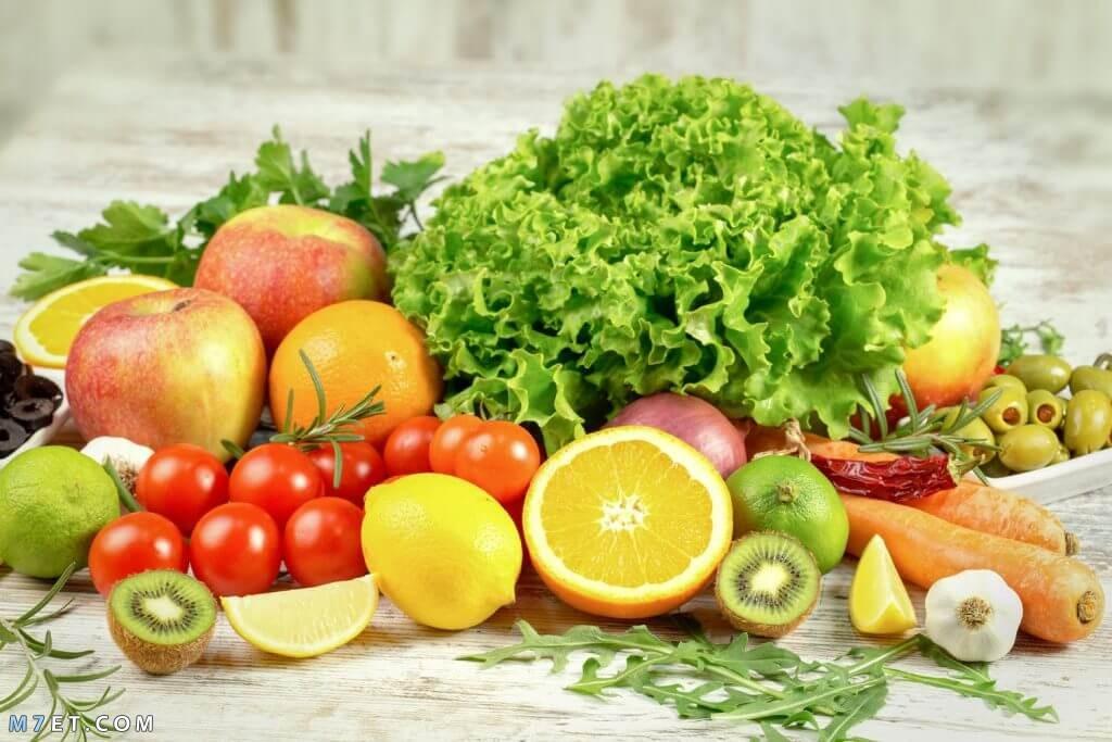 نظام غذائي لحرق الدهون