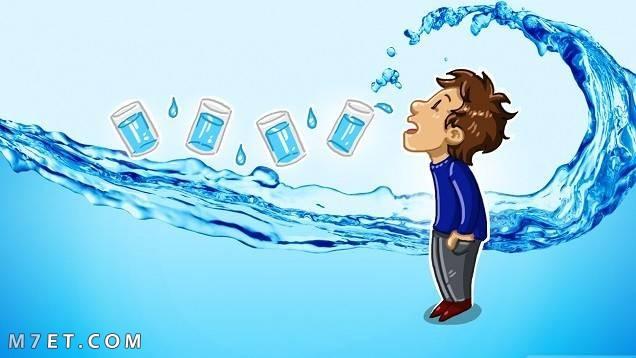 نقص الماء في الجسم