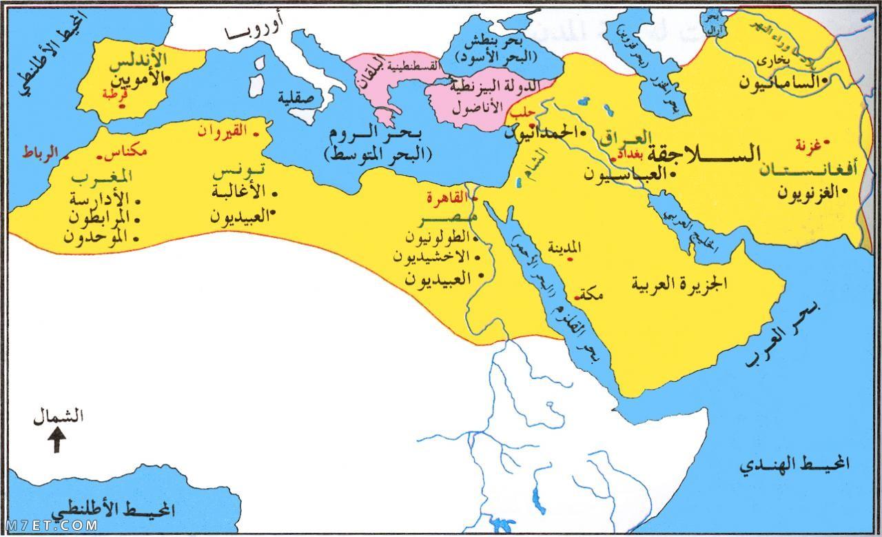 ترتيب الدول الاسلامية