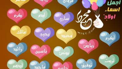 Photo of اجمل اسماء اولاد 2021 جديدة ستقع بحبها عند معرفة معانيها