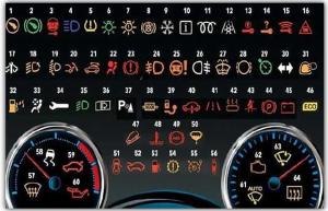 دلالات علامات تحذير BMW
