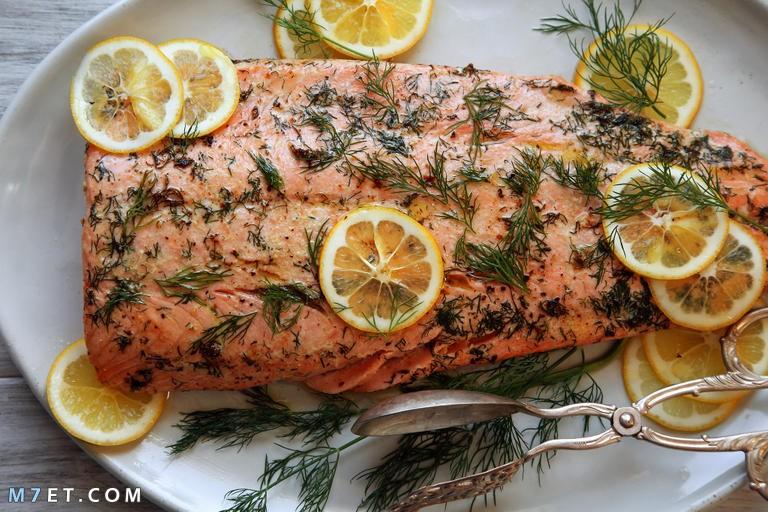 وصفة سمك السلمون