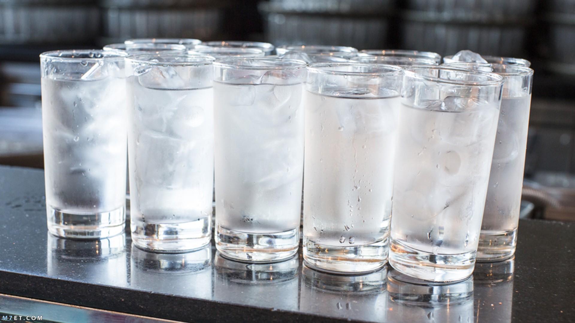 فوائد الماء البارد
