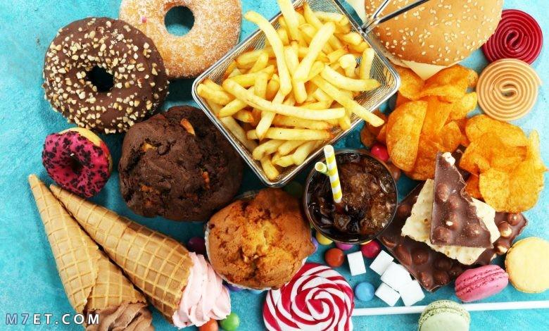 الغذاء غير الصحي