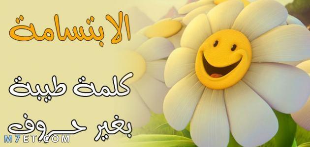 حكمة عن الابتسامة