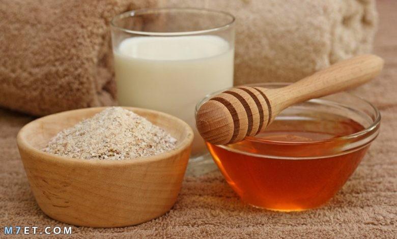 قناع الزبادي والعسل