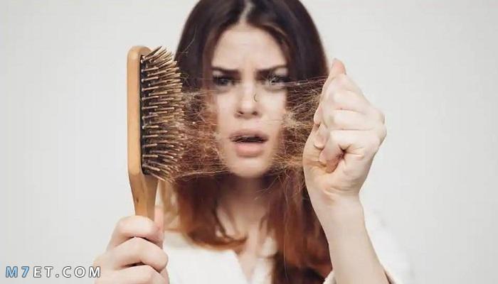 مشكلة تساقط الشعر