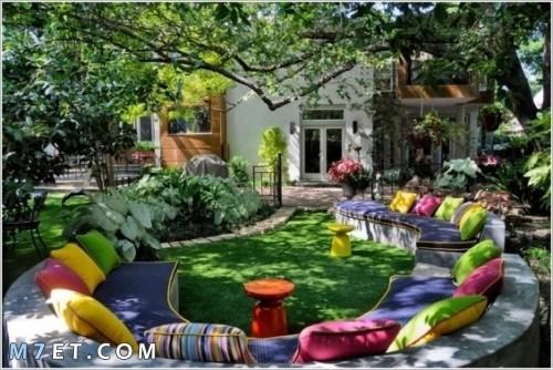تزيين وتنسيق الحدائق الخاصة بالمنزل