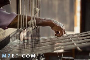 ماذا يطلق على صانع الحرير