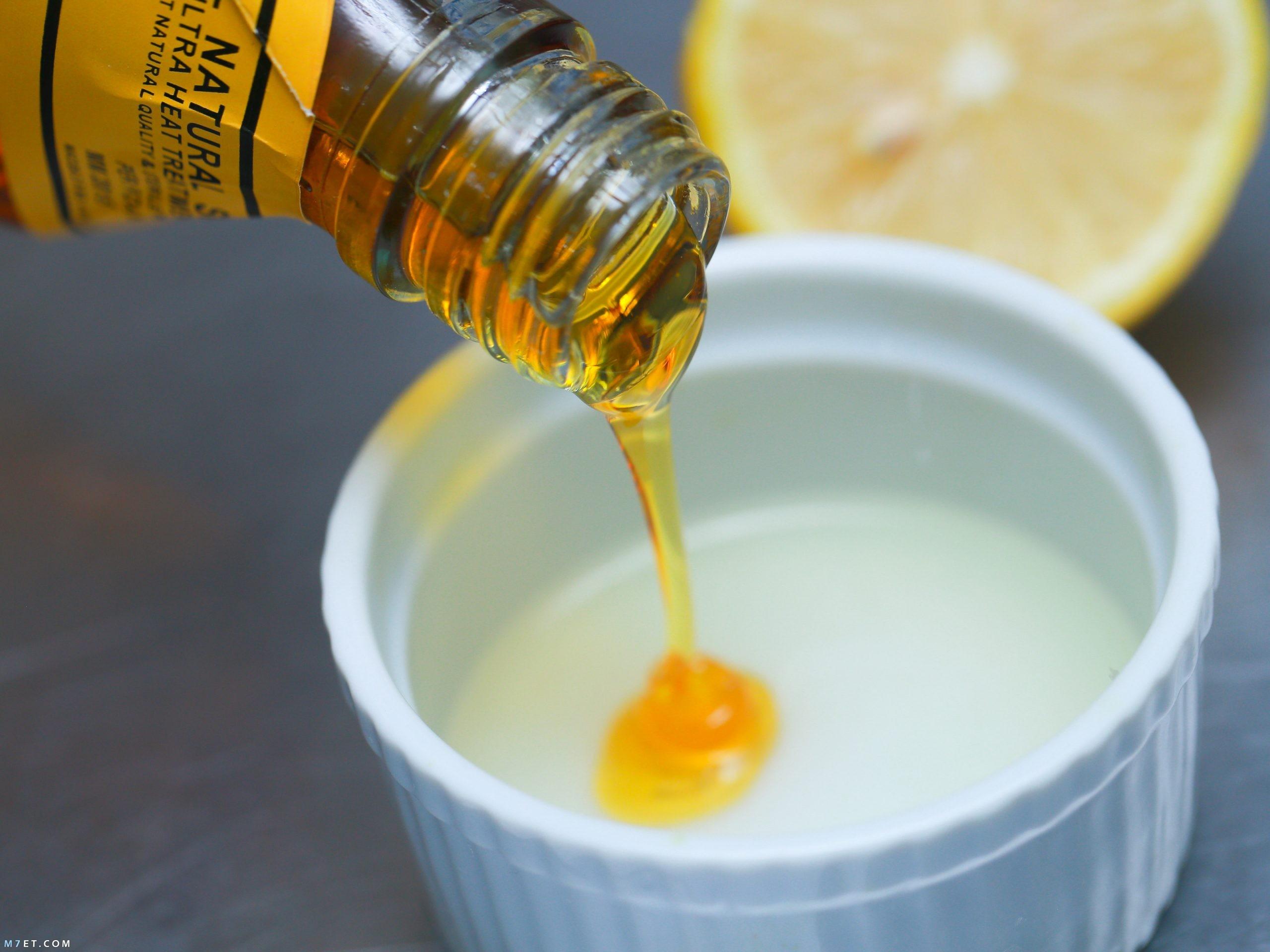 ماسك للوجه بالعسل