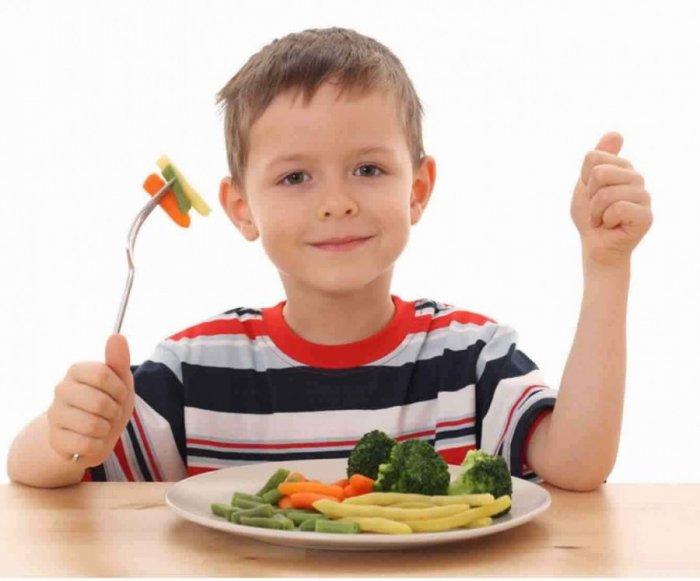 فوائد الخضار للاطفال