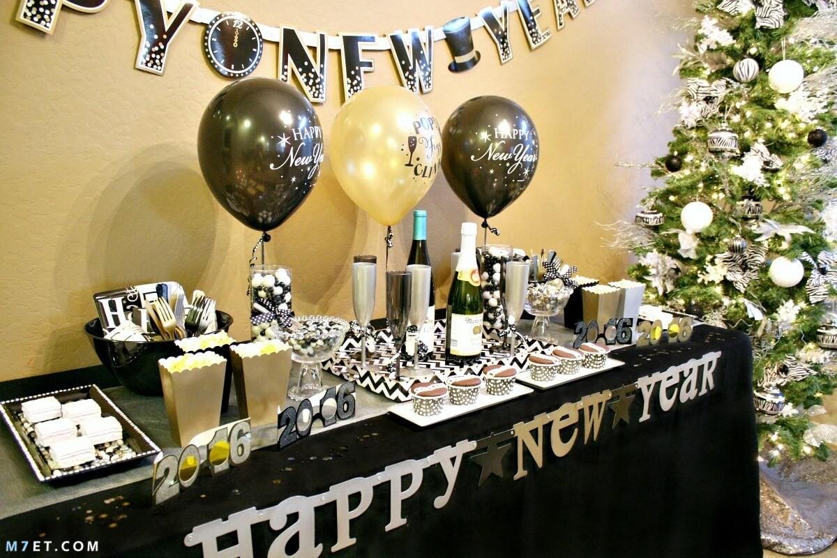 الاحتفال برأس السنة الميلادية 2021