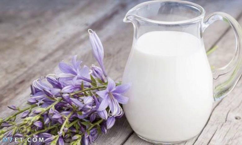 ماسك الحليب للوجه