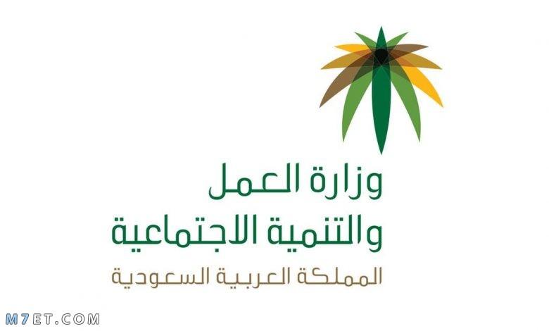 وزارة العمل السعودية الخدمات الالكترونية