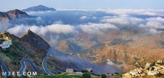 أجمل ثلاث وجهات جبلية في جازان