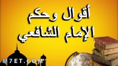 Photo of حكم الشافعي أشهر علماء المسلمين