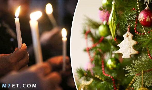 مظاهر الاحتفال بعيد الميلاد