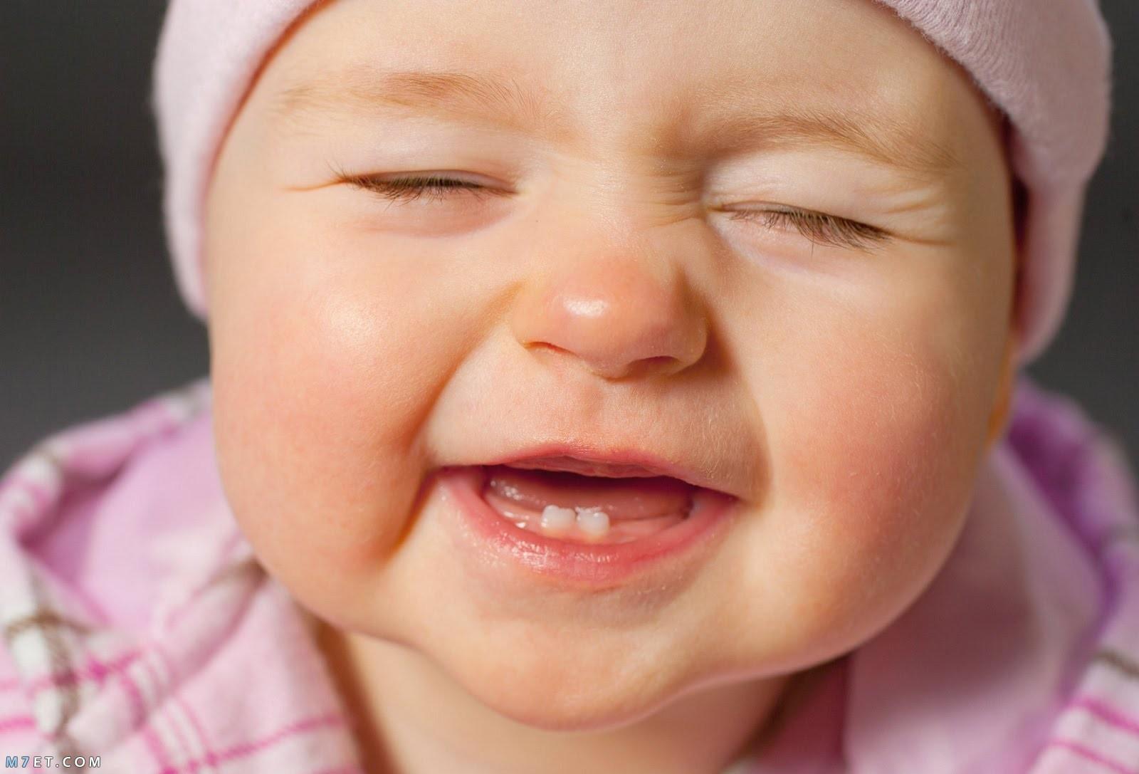 وقت ظهور الاسنان عند الاطفال