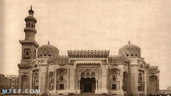 جامع المرسي أبو العباس قديماُ