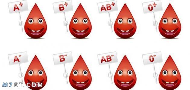 أنواع الدم في جسم الإنسان