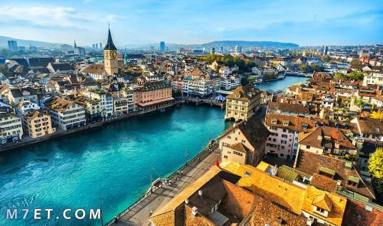اجمل مدينة في سويسرا