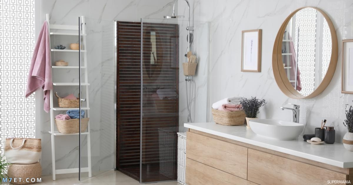 افكار لتزيين الحمام