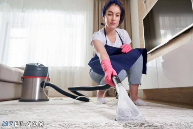 غسل وتنظيف السجاد