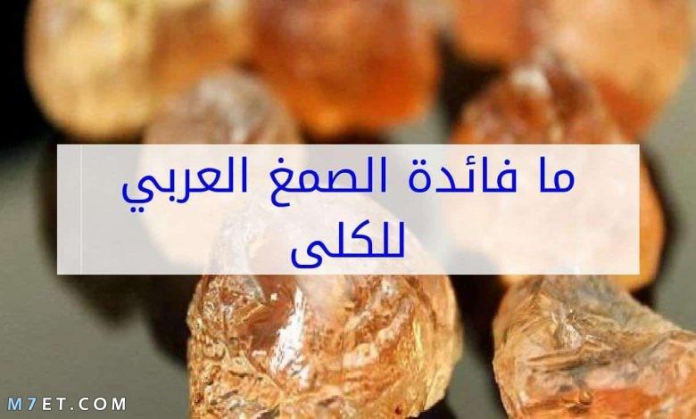 الصمغ العربي للفشل الكلوي