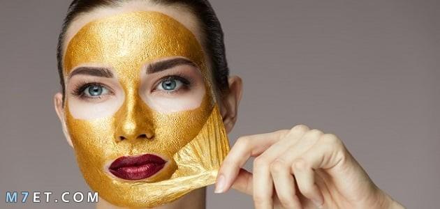 فوائد قناع الذهب