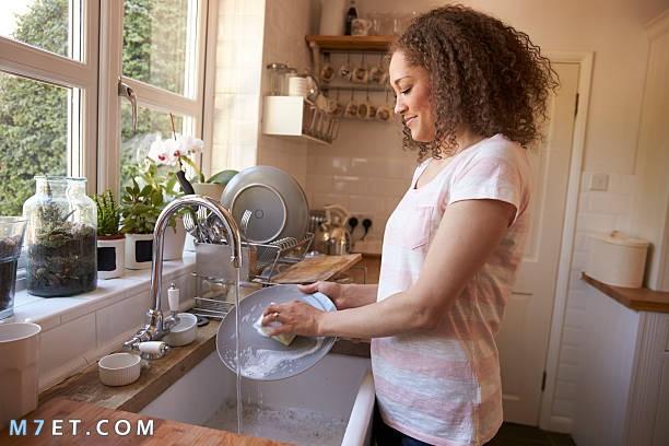 تنظيف المطبخ وغسل المواعين 2021