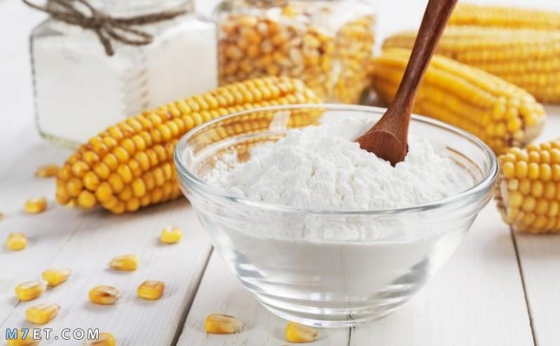 فوائد النشا والحليب للبشرة