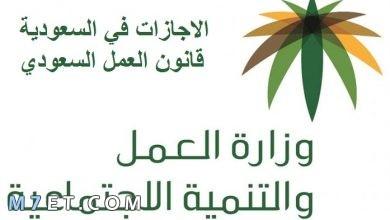 Photo of نظام مكتب العمل في الاجازات| اهم بنود قانون العمل السعودي
