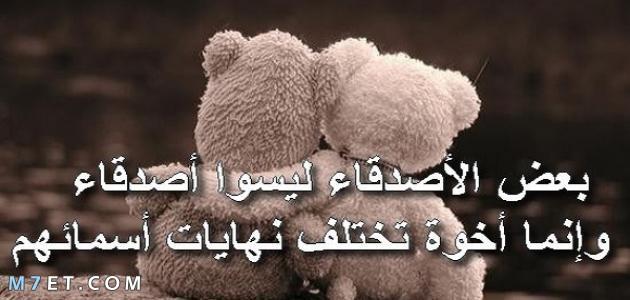 كلام جميل لصديق