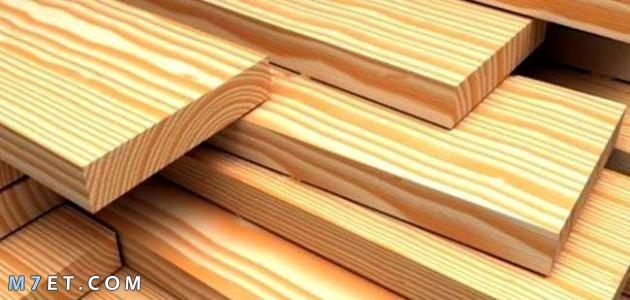 من أنواع الخشب واستخداماته