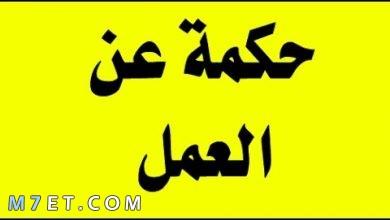 Photo of حكم عن العمل تشد الهمة والعزيمة كي ترتفع الأمة