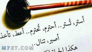 Photo of حكم للحياة تعبر عما يدور في خلدك بكل المواقف