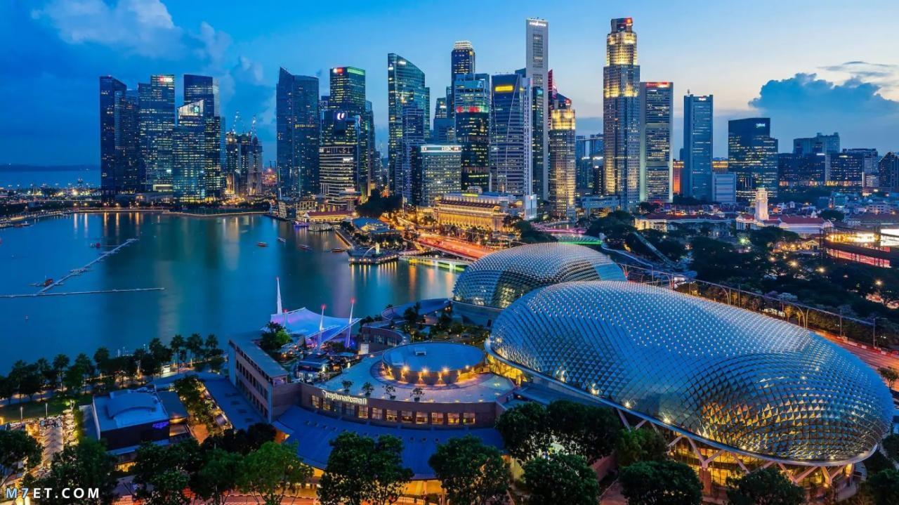 اهم الأماكن السياحية في سنغافورة