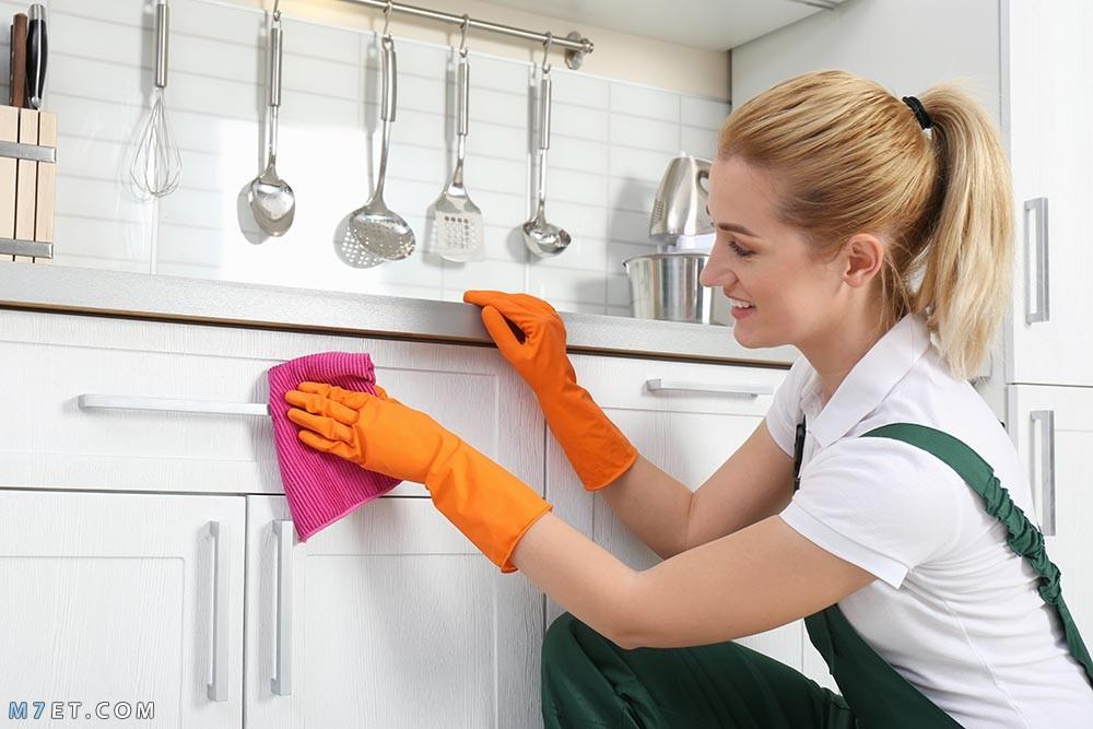 اسهل طريقة لتنظيف المنزل
