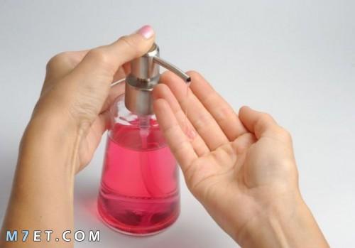طريقة عمل الصابون السائل لليدين