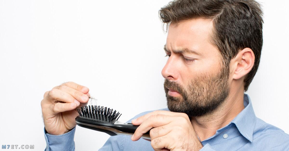 اسباب تساقط الشعر للرجال